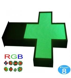 Drapeau croix LED Pharmacie...
