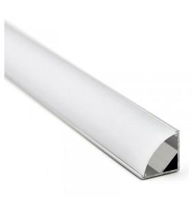 Profilé alumium en L - 2m