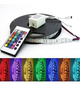 Pack ruban LED 12V - RGB -...
