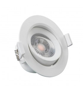 Downlight LED - 7W - Rond 45°