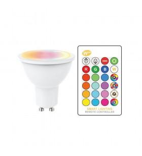 GU10 LED - 5W - RGB+Blanc...